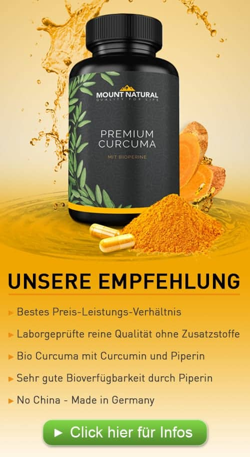 Unsere Empfehlung - Premium Curcuma